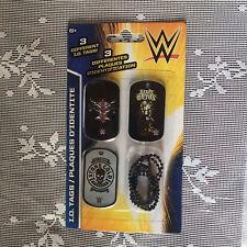 WWE WWF ID Dog Tags NEW SEALED