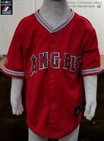 MLB Los Angeles California Angels Majestic Baseball Stitched Jersey TODDLER 3T