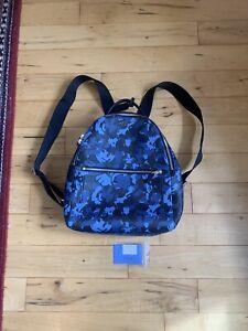 Smythson of Bond Street Leather Blue Burlington Camouflage Backpack £895 🇮🇹