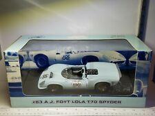 1/18 GMP #83 A.J. FOYT LOLA T70 SPYDER CAN AM BLUE