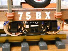 Usa Trains 8 Metal Wheel Upgrade For Custom Wood Flat Cars