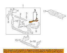 HONDA OEM 09-11 Element Radiator Core Support-Extension Left 04611SCVA50ZZ