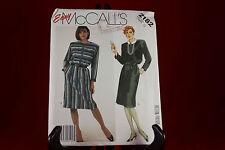 Vintage McCall's 2182 Women's Dress Pattern Size 12