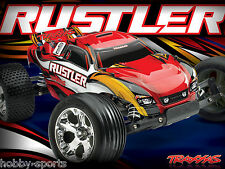 Traxxas Rustler Electric RTR Truck W/ XL-5 ESC 2.4Ghz Battery/Charger TRA370541
