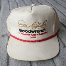 Vintage 90s Dale Earnhardt 1994 Winston Cup Champion Snapback Hat Cap Nascar