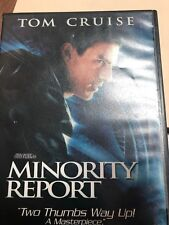 Minority Report (Dvd, 2002, 2-Disc Set, Widescreen) Tom Cruise ~Movie + Case