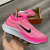 WOMENS NIKE ZOOM FLY 3 PINK RUNNING TRAINERS SHOES SIZE UK6.5 US9 EUR40.5