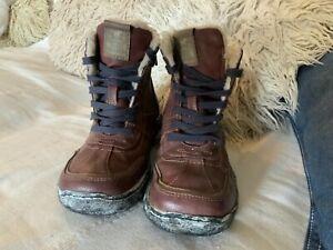 K222 Mustang Ladies Booties Boots 2837-607-307 Braun Cognac Size 40
