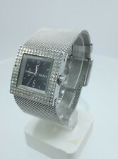 DKNY NY3403 ladies full steel time only watch diamonds inserts NY-3403 3 ATM