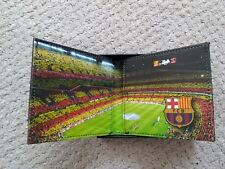 New fc Barcelona Stadium Wallet Leather Gift Boxed Nou Camp New spain rare