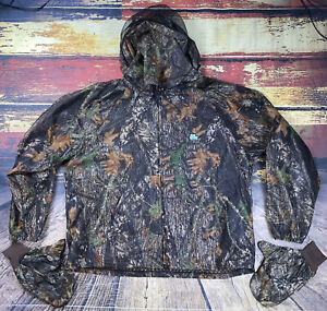 Mens 2XL Shannon Outdoors Bug Tamer Plus Hunting Camo Parka Net Jacket & Mitts