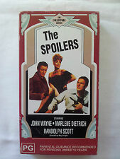 The Spoilers (VHS) video - The Collectors Edition (PG)