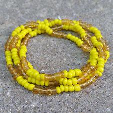 Necklace, Collar, Ileke, Eleke, Santería, Yoruba, Orisha, Oshun, Ochun, Oxum