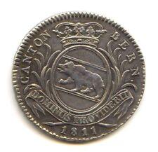 Suisse Canton de Berne Napoleonide 1 Franc 1811 KM 174 Rare