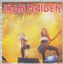 "IRON MAIDEN - running free / sanctuary 7"" made in ITALY"