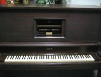Player Piano - Vintage Story & Clark - w Bench