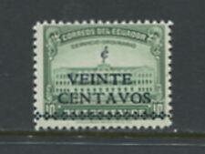 Ecuador  1945 Quito Palace SURCHARGED  #452   1v.  MNH  D904