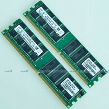 Samsung 2GB 2x 1GB PC3200 DDR400 400MHz 184Pin DIMM Desktop Low Density MEMORY