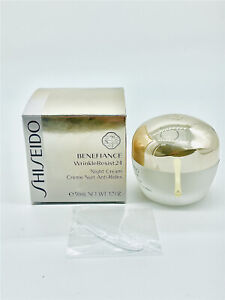 BRAND NEW, SEALED - Shiseido Benefiance WrinkleResist24 Night Cream 1.7oz