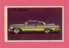 Imperial Vintage 1950s Car Collector Card from Sweden