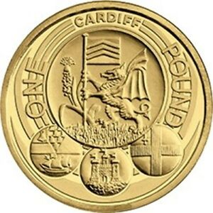 UK 2011 Cardiff £1 Coin [Ref 374K]
