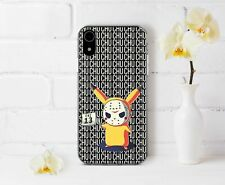 Friday The 13th iPhone Case Pikachu Pokemon Halloween iPhone XR 7 8 Plus Cover