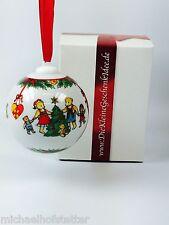 Hutschenreuther Porzellan Weihnachtskugel Kugel 1997 OHNE Verpackung NEU