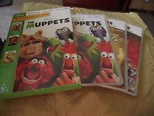 THE MUPPETS 3 collection film Disney 3 Disque DVD PAL Cert U Jim Henson
