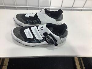 PEARL iZUMi Women's All-Road  Plus Shoes White/ Black Size 40 $120