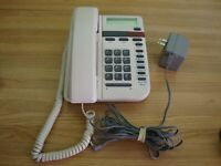VINTAGE ALMOND VISTA 150 DESK TELEPHONE MADE IN MEXICO