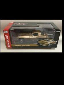 1963 Corvette TAN 1:18 Autoworld 1222