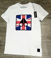 Moose Knuckle Casual Biosphere T-shirt with England flag logo size M
