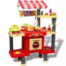 vidaXL Giocattolo bambini Cucina grande in plastica con accessori giochi bambini
