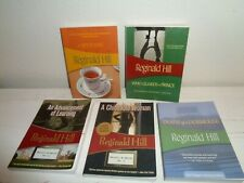 lot 5 REGINALD HILL mystery softcover books