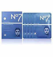 No7 Lift & Luminate TRIPLE ACTION serum boost sheet masks 4 Pack
