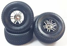 SCT Slash short course and slash truck tires ( Tridot Chrome )