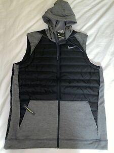 NEW Nike Therma Mens Winterized Full-Zip Trainning Vest Jacket Size XL NWT