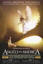 ANGELS IN AMERICA Movie POSTER 27x40 Al Pacino Meryl Streep Emma Thompson