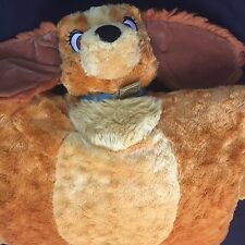 Disney Parks Pillow Pal Pet Lady Dog Soft Plush Lady And The Tramp Toy