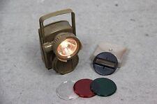 FRIWO 14311 EX-LEUCHTE NOTLEUCHTE KOPFLAMPE HEIMLAMPE LAMPE THW BUND ARMY OLIV