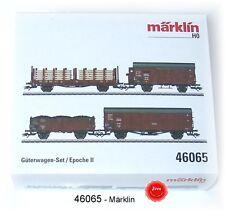 MÄRKLIN 46065 Güterwagen-Set der DRB 4-teilig #NEU in OVP#