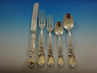 La Parisienne by Reed & Barton Sterling Silver Flatware Service Set 60 PC Dinner