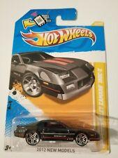 Hot Wheels '85 Chevrolet Camaro IROC-Z Black 2012 New Model New on Card