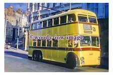 gw0130 - Bournemouth Trolleybus KLJ 348 in 1962 - photograph