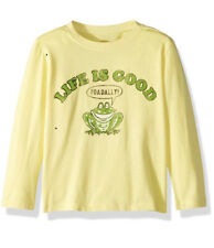 Life is Good Toadally Long-sleeve Toddler T-Shirt Yellow, 2T Brand NEW!