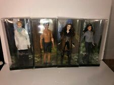 Twilight Barbie Pink Label Collector Dolls: Carlisle, Bella, Jacob and Victoria