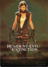 Resident Evil Extinction , Steelbook Edition , 100% uncut , new & sealed