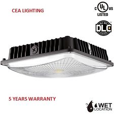 CEA 75W LED Slim Canopy Light 5000K Daylight 250W MH/HID Replacement  UL & DLC