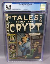 TALES FROM THE CRYPT #23 (Rare Pre-Code Horror) CGC 4.5 VG+ EC 1951 Golden Age