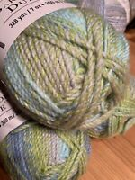 Loops & Threads Barcelona Dulce - Stream: Green Gray Blue 328 Yds, Bulky (5)